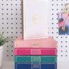 English Translated Rainbow Quran White Pink Blue Green Black Gold