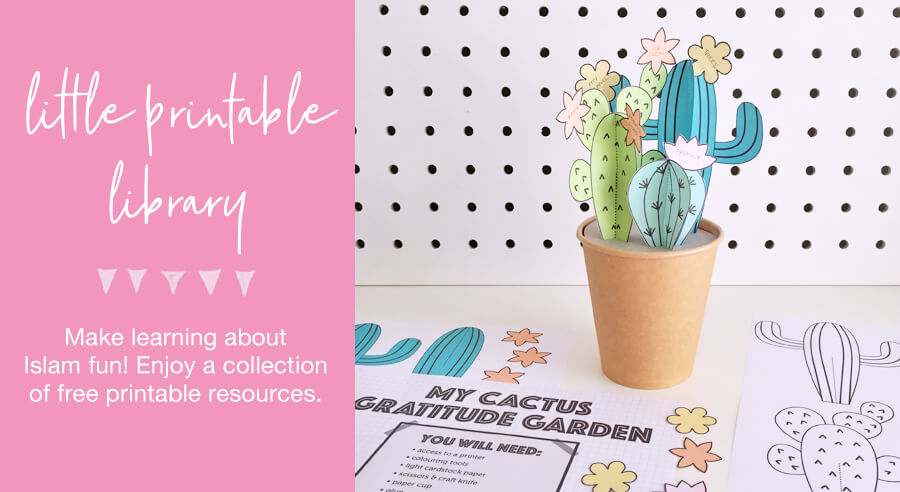 Little Printable Library Home