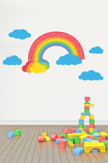 Bismillah-Rainbow-Islamic-Wall-Sticker-Decal-Bright-2