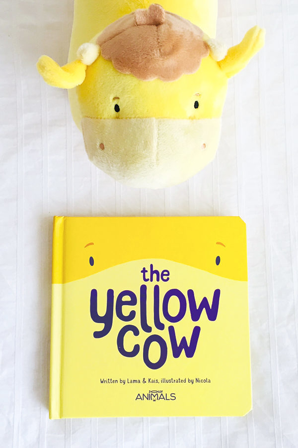 The Yellow Cow Book Cover